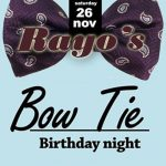Rayo's Bow Tie B-day party